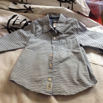 Camisa ML oshkosh - 4 anos - OshKosh e Carter`s