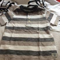Camiseta MC oshkosh - 4 anos - OshKosh e Carter`s