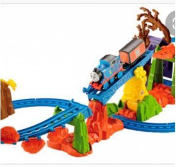Pistas Thomas e seus amigos, igual às fotos - Sem faixa etaria - Mattel e Fisher Price
