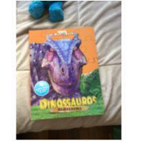 Livro dinossauro quebra cabeça -  - Ciranda Cultural