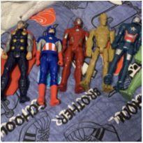 Kit 7 figuras de ação -  - Mattel e Hasbro