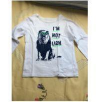 KIt 2 camisetas ML, oshkosh Carters, tam5 - 5 anos - OshKosh e Carter`s
