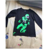 Camiseta brilha escuro ML, importada, tam5 - 5 anos - OshKosh e Carter`s