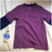 Camiseta ML oshkosh Carters, importada, nova tam5 - 5 anos - OshKosh e Carter`s
