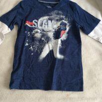 Camiseta ML, Carters oshkosh, importada, tam 4/5 - 5 anos - Carter`s e OshKosh