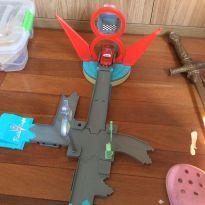 Pista e lancador Mcquen -  - Mattel