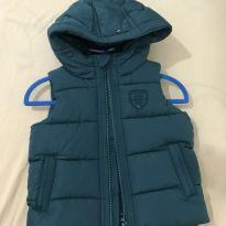 Colete / casaco Tommy - 9 a 12 meses - Tommy Hilfiger