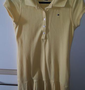 Vestido amarelo Tommy Hifilger 8-10 anos - 10 anos - Tommy Hilfiger