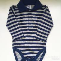 Body Hering Baby - 9 a 12 meses - Hering Baby e Hering Kids