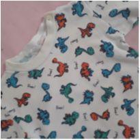 Camiseta Manga Longa - 0 a 3 meses - LUIZINHO BABY