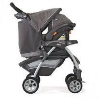 Carrinho Chicco Cortina + BB Conforto Key  fit 30 + Base importado - Sem faixa etaria - Chicco