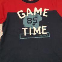 Camiseta Tommy hilfiger original - 6 anos - Tommy Hilfiger