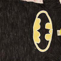 Camiseta Batman com capa - 6 anos - DC Comics