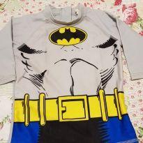 Camiseta Batman proteção solar - 6 anos - DC Comics