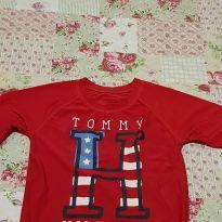 Camiseta Proteção Solar tommy hilfiger original - 5 anos - Tommy Hilfiger