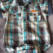 Body Camisa - 6 meses - Baby Wood