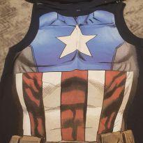 Regata Capitão América Marvel - 4 anos - MARVEL