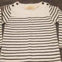 Camiseta listrada - 9 meses - Cikicoko