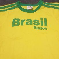 Camiseta Brasil - 12 a 18 meses - Sem marca