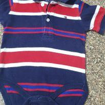 Body Polo Tommy Hilfiger original infantil
