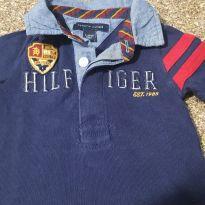 Camisa Polo Tommy Hilfiger original infantil - 3 a 6 meses - Tommy Hilfiger