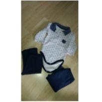 Bory, calca, meias, Tamanho M - 3 a 6 meses - Variadas