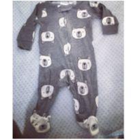 Macacão ursinho carter's - 0 a 3 meses - Carter`s