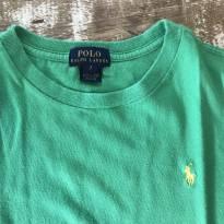 Camiseta Polo Ralph Lauren verde tamanho 7 - 7 anos - Ralph Lauren