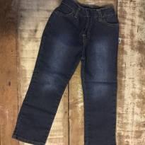 Calça jeans Hering com elastano tamanho 3 menina pouquíssimo usada - 3 anos - Hering Baby