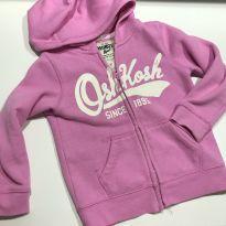 Casaco moletom com capuz rosa OshKosh 3T - 3 anos - OshKosh
