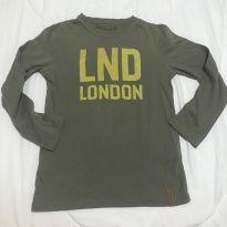 Blusa manga longa Zara London tam 6-7 - 7 anos - Zara