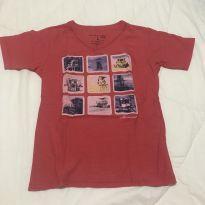 Camiseta Mineral pouco usada tamanho 8 - 8 anos - Mineral Kids