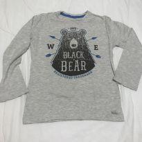 Blusa manga longa urso Milon tam 8 - 8 anos - Milon