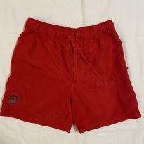 Shorts náilon vermelho tam 8 Fuzarka pouco usado - 8 anos - Fuzarka