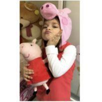 Fantasia Peppa aveludada 4 anos - 4 anos - Multibrink