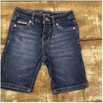 Bermuda LEVI'S jeans tipo ciclista com stretch tam 3T - 3 anos - Levi`s