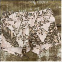 Shorts floral rosa GAP Kids tam 4 com stretch - 4 anos - Gap Kids