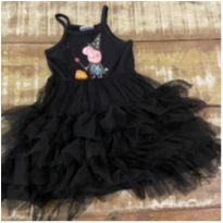 Vestido Peppa bruxinha preto tam 1-2 anos - 2 anos - Peppa Pig
