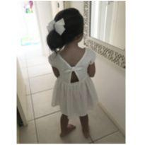 Vestido festa Zara em laise branco tam 5 POUCO USADO - 5 anos - Zara Girls