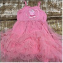 Vestido Peppa fadinha rosa com babados de tule tam 3-4 anos - 4 anos - Peppa Pig