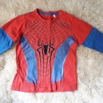 Camiseta do Homem Aranha - 4 anos - Avengers