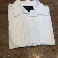 Camisa Branca BabyCottons - 2 anos - Baby Cottons
