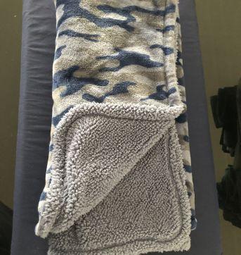Cobertor quentinho Azul - Sem faixa etaria - Carter`s