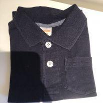 Camiseta polo azul marinho - 18 a 24 meses - Gymboree