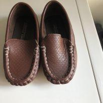 Sapato moccasin - 22 - Sem marca