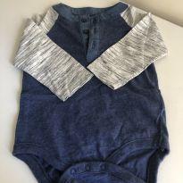 Body manga comprida - 3 a 6 meses - Baby Gap