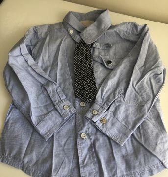 Camisa Chicco - 12 a 18 meses - Chicco
