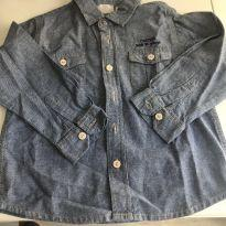 Camisa jeans - 18 a 24 meses - Chicco