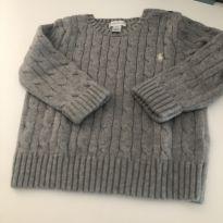 Malha clássica cinza polo Ralph Lauren - 2 anos - Ralph Lauren