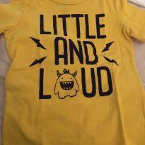 Camiseta amarela - 2 anos - Carter`s